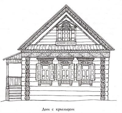 Как раньше на Руси строили избы: http://dereven-ka.ru/shedevri/80.html